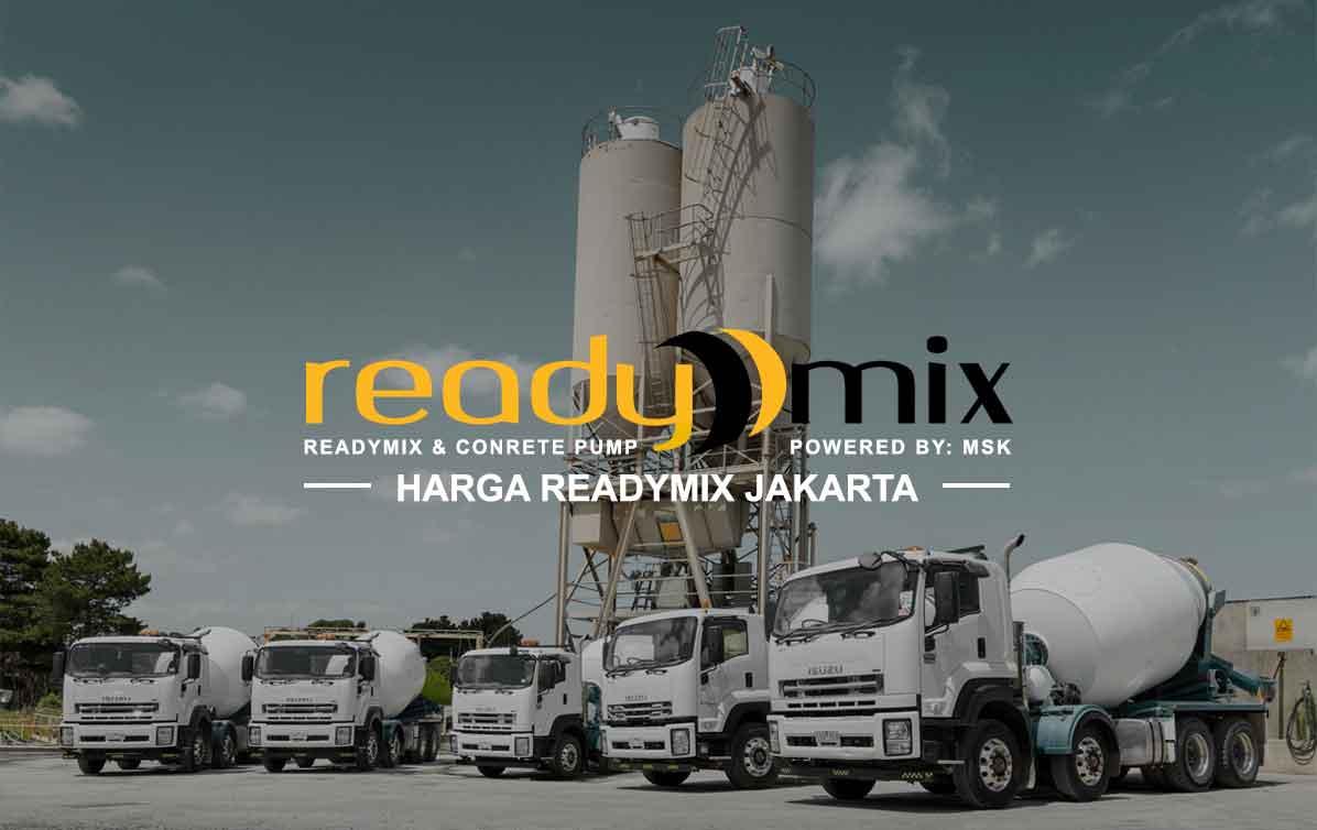 Harga Readymix Jakarta