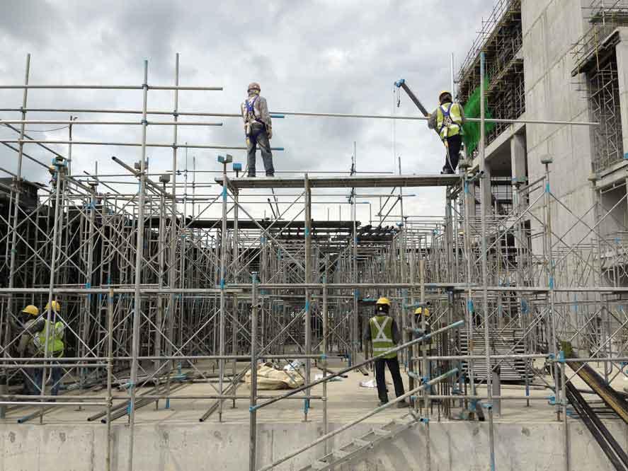 Pentingnya Scaffolding dalam Dunia Konstruksi
