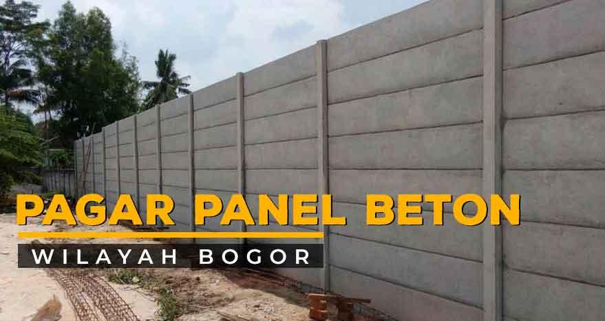 Harga Pagar Panel Beton Bogor