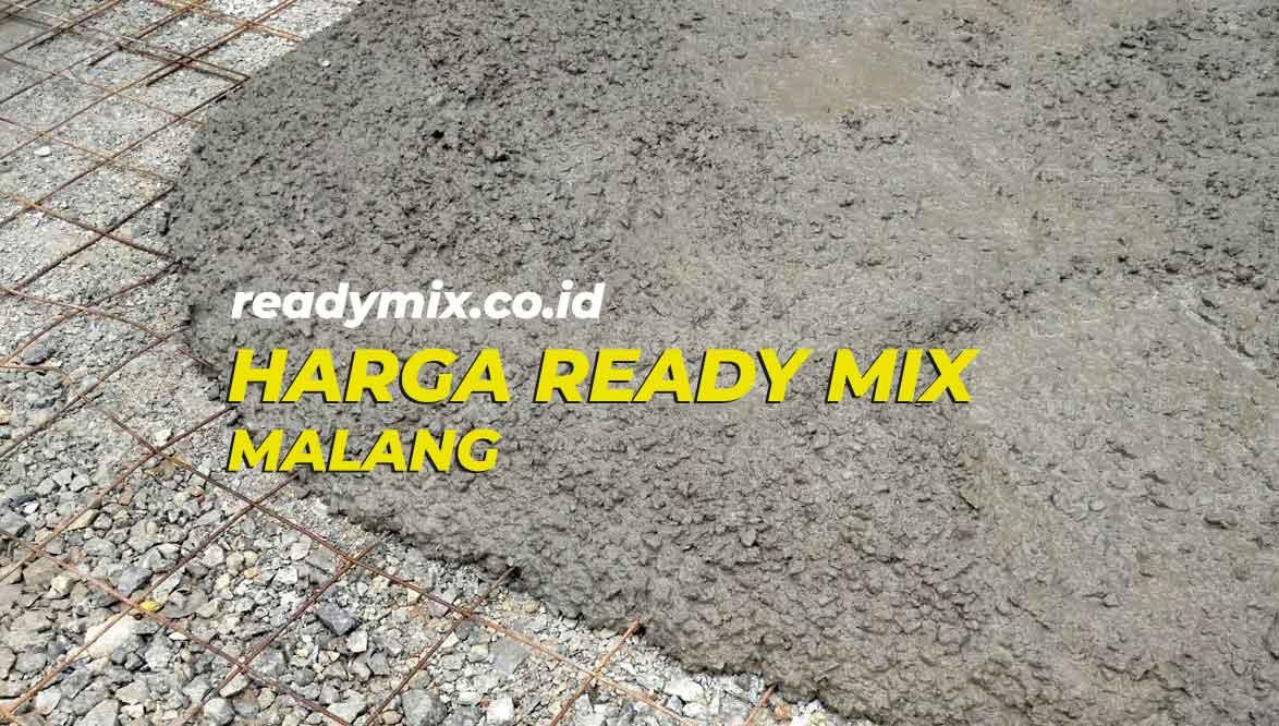 Harga Ready Mix Malang