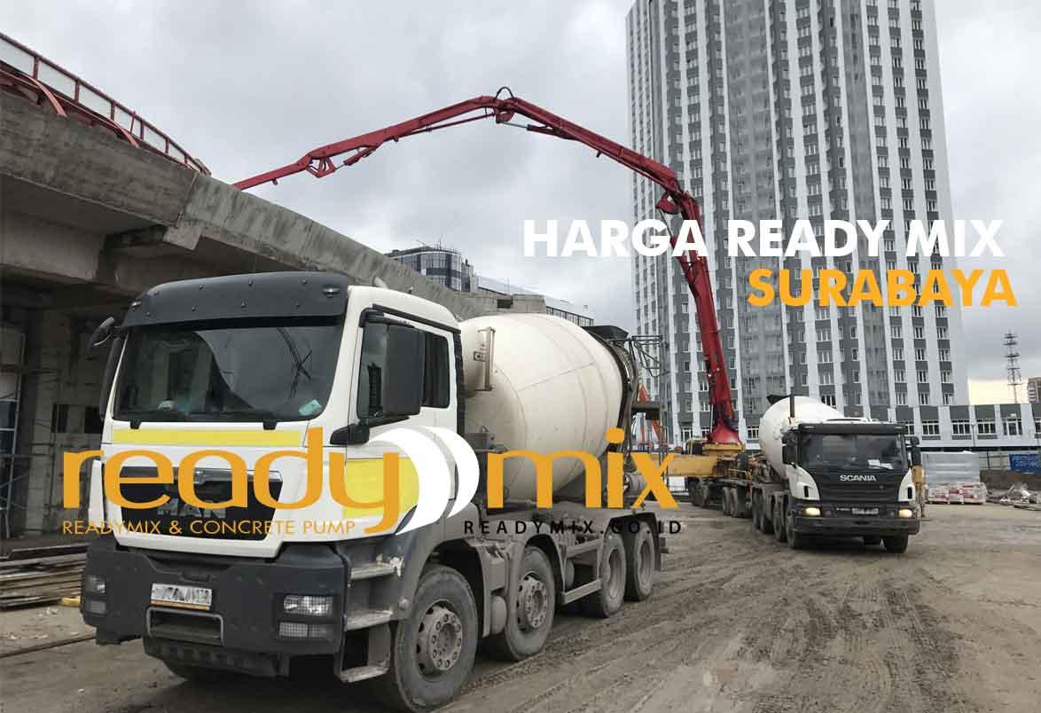 Harga Ready Mix Surabaya