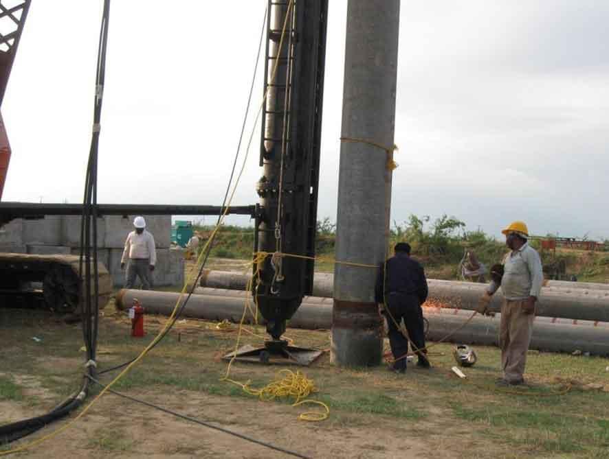 Pemasangan Spun Pile