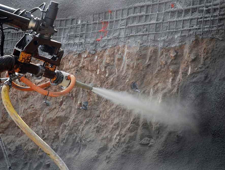 Shotcrete Beton Mortar Sebagai Solusi Cepat Dalam Pembangunan