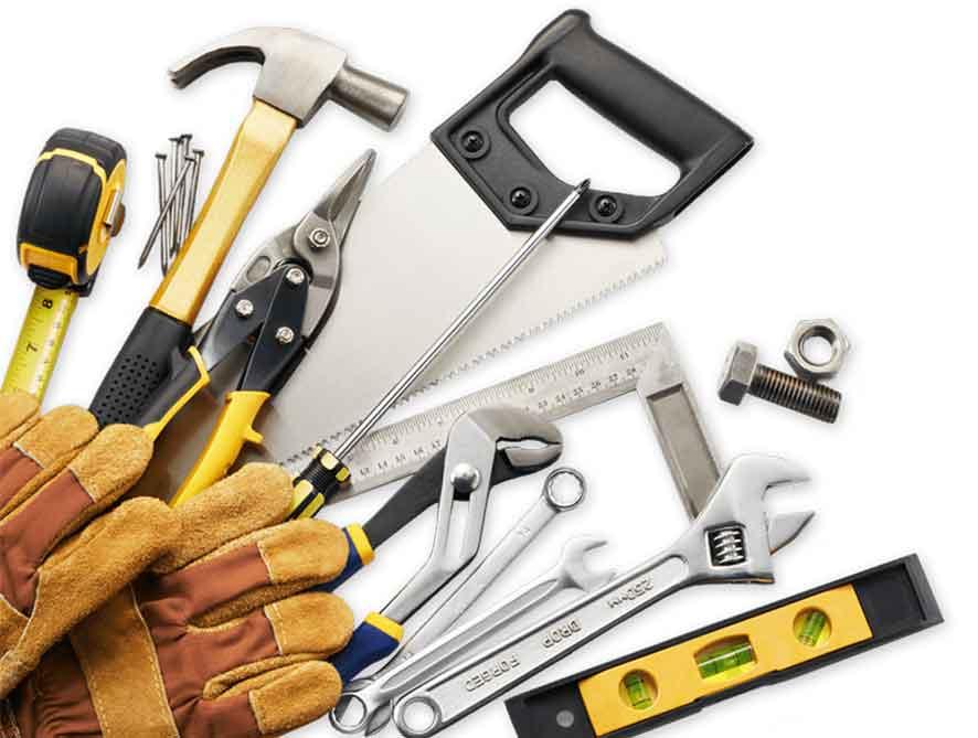 Peralatan dan Bahan Untuk Renovasi Bangunan